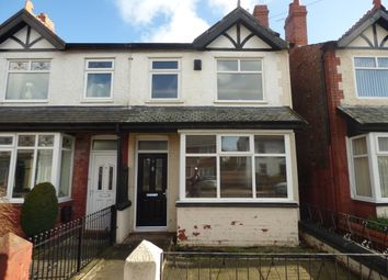Thumbnail 3 bed semi-detached house for sale in The Village, Bebington, Wirral