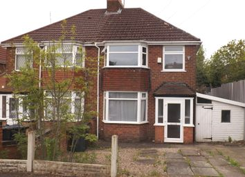 Thumbnail 3 bed semi-detached house to rent in Broad Lane, Birmingham