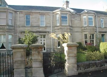 Thumbnail 3 bed flat to rent in Bellevue Crescent, Ayr
