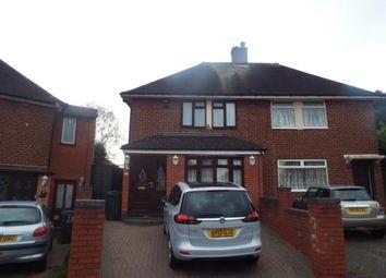 Thumbnail 2 bedroom semi-detached house for sale in Milstead Road, Birmingham, West Midlands