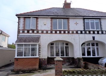 Thumbnail 3 bed semi-detached house for sale in Delphene Avenue, Thornton-Cleveleys