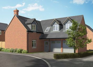 "Thumbnail 4 bed detached house for sale in ""The Helmsdale"" at Hill Top Close, Market Harborough"