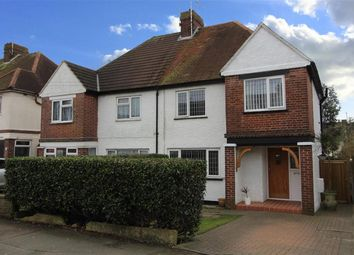 3 bed semi-detached house for sale in Downs Road, Folkestone, Kent CT19