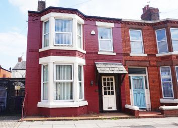 Thumbnail 3 bed end terrace house for sale in Elmsdale Road, Liverpool