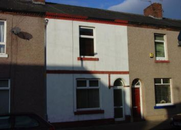 Thumbnail 2 bed terraced house to rent in Lindisfarne Street, Carlisle