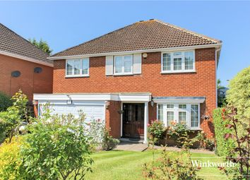 Thumbnail 5 bed detached house to rent in Nicholas Road, Elstree, Hertfordshire
