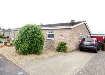 Thumbnail 2 bed detached bungalow to rent in Hawthorn Close, Wymondham