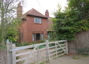 Thumbnail 2 bed semi-detached house for sale in Pound Corner, Grundisburgh, Woodbridge