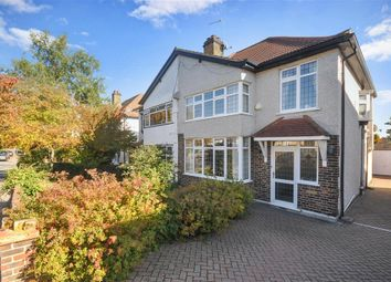 Thumbnail 3 bed semi-detached house for sale in Bennetts Avenue, Shirley, Surrey