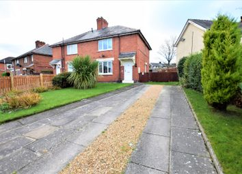Thumbnail 2 bedroom semi-detached house for sale in Wern Las, Wrexham