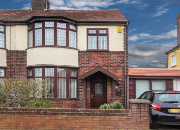 Thumbnail 3 bedroom semi-detached house for sale in Kendal Avenue, Blackpool