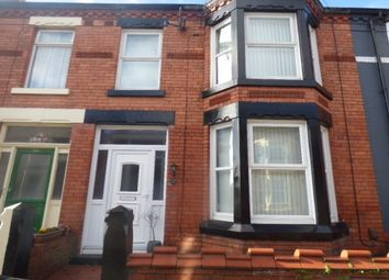 Thumbnail 3 bed property to rent in Ivernia Road, Liverpool