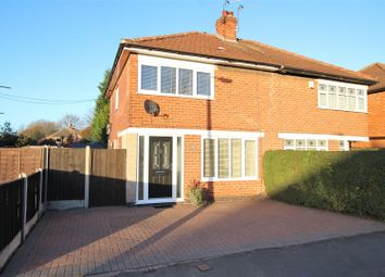 Thumbnail 2 bed semi-detached house for sale in Bramcote Avenue, Beeston, Nottingham