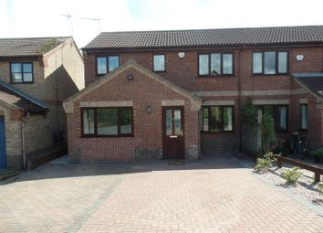 Thumbnail 4 bed semi-detached house for sale in Stoyles Way, Heighington, Lincoln