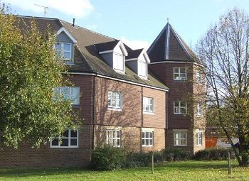 Thumbnail 2 bed flat to rent in Kitsbridge House, Brookhill Road, Copthorne