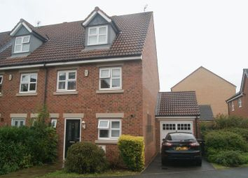 Thumbnail 4 bed terraced house to rent in Hawks Edge, West Moor, Newcastle Upon Tyne