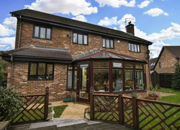 Thumbnail 4 bed detached house for sale in Clos Elphan, St. Mellons, Cardiff