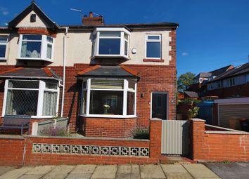 Thumbnail 3 bedroom terraced house for sale in Burnham Avenue, Heaton, Bolton, Lancashire.