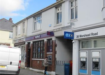 Thumbnail Retail premises for sale in 38, Morshead Road, Plymouth, Devon, UK