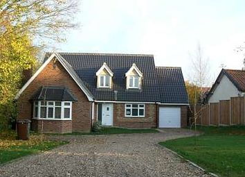 Thumbnail 4 bedroom detached house to rent in Mattishall Road, Garvestone, Norwich