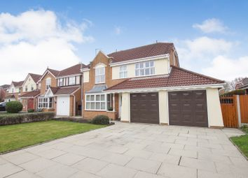 Thumbnail 4 bed detached house for sale in Cotterdale Close, Warrington