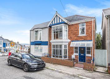 Thumbnail Semi-detached house for sale in Hazel Road, Uplands, Swansea