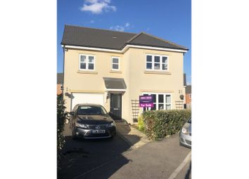 Thumbnail 4 bed detached house for sale in Banks Crescent, Stamford