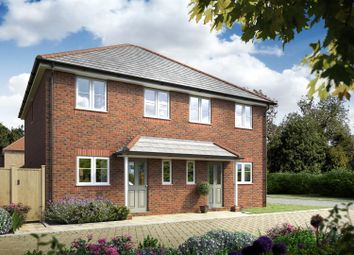 Thumbnail 2 bed semi-detached house for sale in Norlington Lane, Ringmer, Lewes