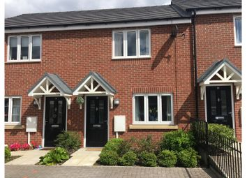 Thumbnail 2 bedroom town house for sale in Frank Watts Close, Ratby