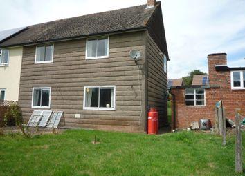 Thumbnail 3 bed semi-detached house for sale in Poorscript Lane, Grosmont, Abergavenny