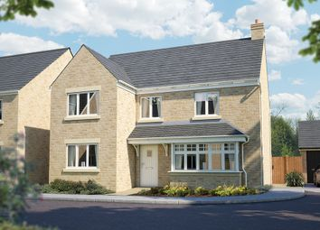 "Thumbnail 5 bed detached house for sale in ""The Chester"" at Downs Road, Curbridge, Witney, Oxfordshire, Witney"