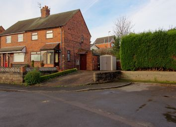 Thumbnail 2 bed semi-detached house for sale in Bains Grove, Chesterton, Newcastle-Under-Lyme
