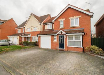 Thumbnail 4 bed detached house for sale in Lady Grey Avenue, Heathcote, Warwick