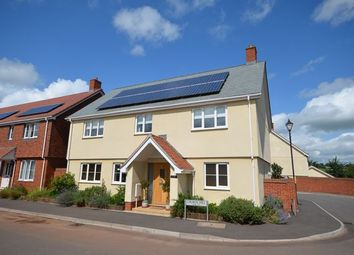 Thumbnail 4 bed detached house for sale in Crown Hill, Halberton, Tiverton