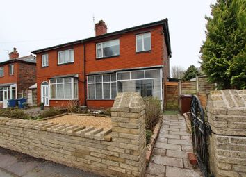 Thumbnail 3 bed semi-detached house for sale in Egerton Road, Whitefield, Manchester