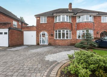 Thumbnail 3 bedroom semi-detached house for sale in Overton Drive, Water Orton, Birmingham