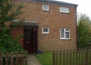 Thumbnail 3 bed terraced house to rent in Shilling Close, Pennyland, Milton Keynes