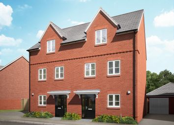 "Thumbnail 3 bed town house for sale in ""The Elm"" at Hyde End Road, Shinfield, Reading"