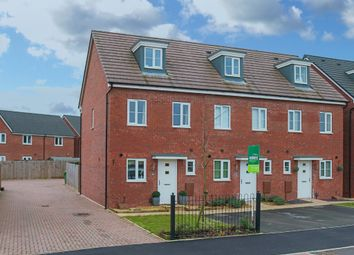 Thumbnail 3 bed end terrace house for sale in East Works Drive, Cofton Hackett, Birmingham