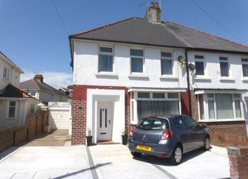 Thumbnail 3 bed semi-detached house for sale in Nicholls Avenue, Porthcawl