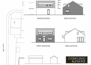 Thumbnail 3 bed detached bungalow for sale in Cross Ave, Wickford, Essex