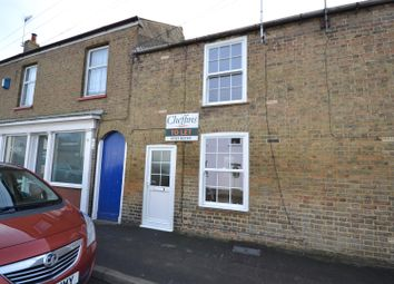 Thumbnail 2 bed terraced house to rent in Main Street, Little Downham, Ely