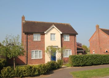 Thumbnail 4 bed detached house for sale in Sandmartin Crescent, Stanway, Colchester
