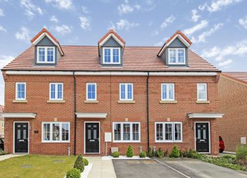 Thumbnail 3 bed terraced house for sale in Sherwood Drive, Thorpe Willoughby