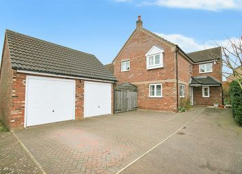 Thumbnail 4 bed detached house for sale in Eriswell Road, Lakenheath