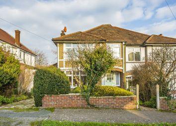 Thumbnail 4 bed semi-detached house for sale in Willis Avenue, Sutton, Surrey