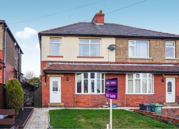 Thumbnail 3 bed semi-detached house for sale in Skelton Crescent, Crosland Moor, Huddersfield
