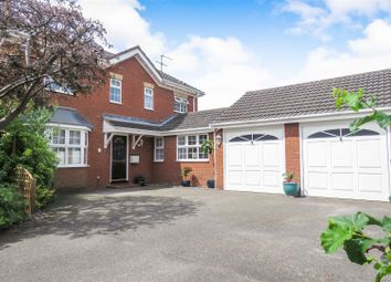 Thumbnail 4 bed detached house for sale in Clover Close, Biggleswade