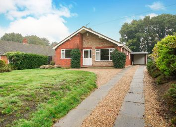 Thumbnail 3 bed detached bungalow for sale in Holt Road, Horsford, Norwich