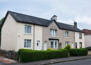 Thumbnail 3 bedroom end terrace house for sale in Kirkton Avenue, Glasgow